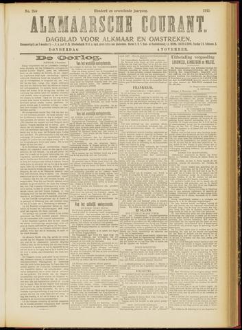 Alkmaarsche Courant 1915-11-04