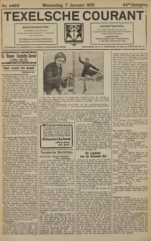 Texelsche Courant 1931-01-07