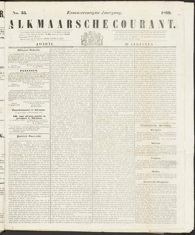 Alkmaarsche Courant 1869-08-29