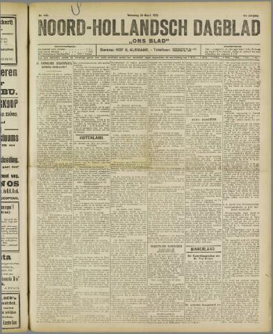 Ons Blad : katholiek nieuwsblad voor N-H 1922-03-29