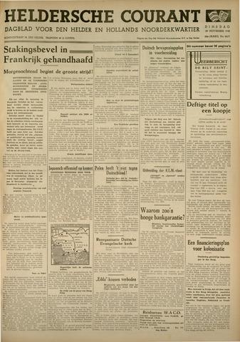 Heldersche Courant 1938-11-29