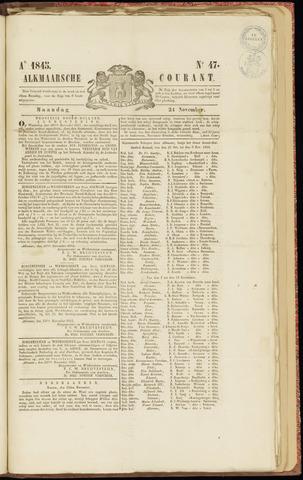Alkmaarsche Courant 1845-11-24
