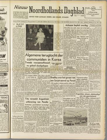 Nieuw Noordhollandsch Dagblad : voor Alkmaar en omgeving 1951-05-24