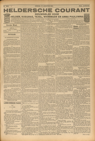 Heldersche Courant 1924-08-19