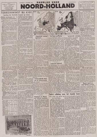 Dagblad Noord-Holland, Schager editie 1943-11-15