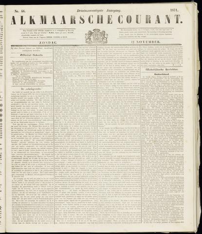 Alkmaarsche Courant 1871-11-12