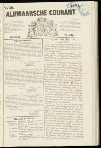 Alkmaarsche Courant 1854-07-24