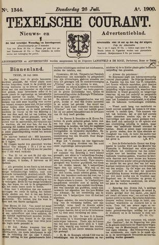Texelsche Courant 1900-07-26