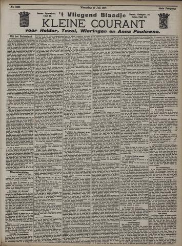 Vliegend blaadje : nieuws- en advertentiebode voor Den Helder 1907-07-10