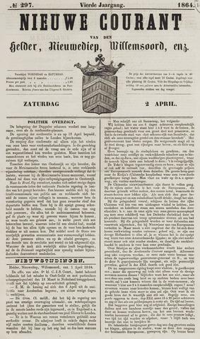 Nieuwe Courant van Den Helder 1864-04-02