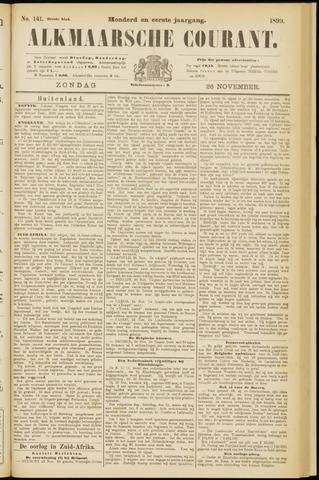 Alkmaarsche Courant 1899-11-26