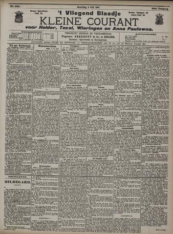 Vliegend blaadje : nieuws- en advertentiebode voor Den Helder 1907-07-06