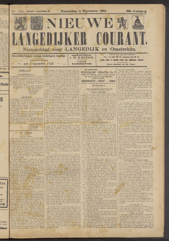 Nieuwe Langedijker Courant 1924-09-11