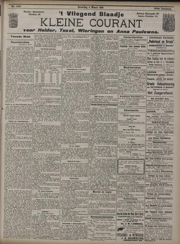 Vliegend blaadje : nieuws- en advertentiebode voor Den Helder 1909-03-06