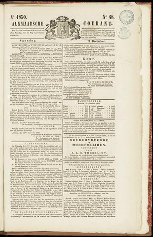 Alkmaarsche Courant 1850-12-02