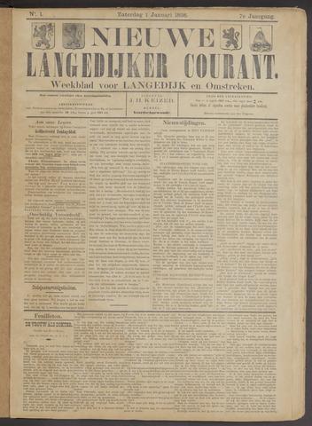 Nieuwe Langedijker Courant 1898