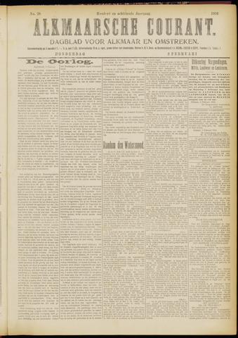 Alkmaarsche Courant 1916-02-03