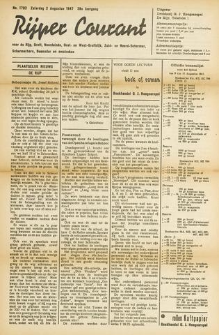 Rijper Courant 1947-08-02
