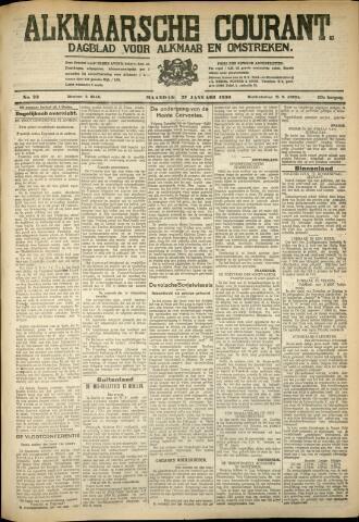 Alkmaarsche Courant 1930-01-27