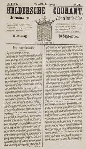 Heldersche Courant 1872-09-18