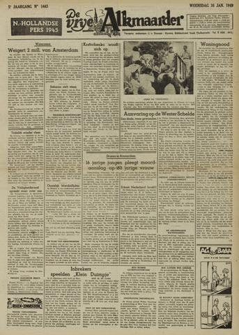 De Vrije Alkmaarder 1949-01-26