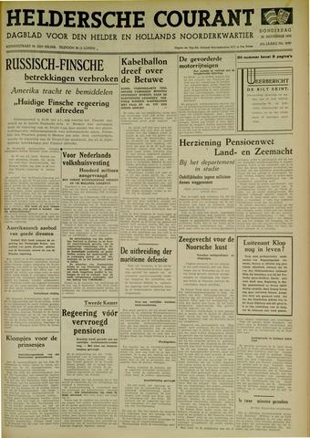 Heldersche Courant 1939-11-30