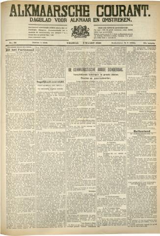 Alkmaarsche Courant 1930-03-07