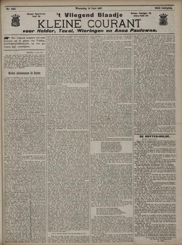Vliegend blaadje : nieuws- en advertentiebode voor Den Helder 1907-06-12