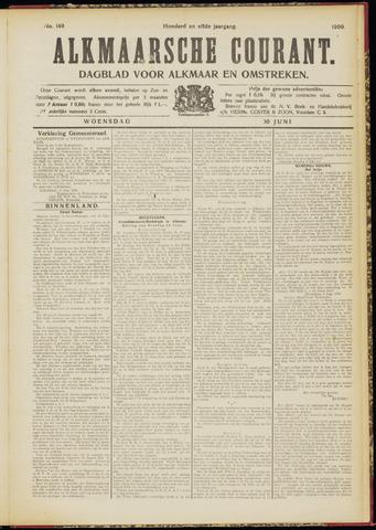 Alkmaarsche Courant 1909-06-30