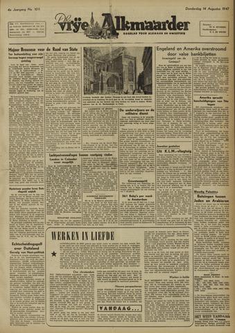 De Vrije Alkmaarder 1947-08-14
