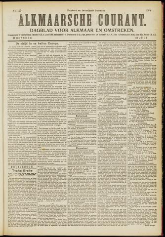 Alkmaarsche Courant 1918-07-10