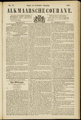 Alkmaarsche Courant 1887-02-11