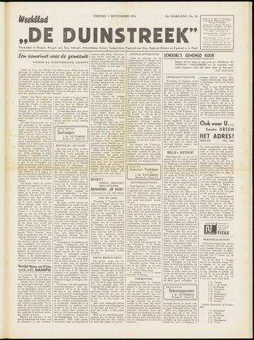 De Duinstreek 1954-09-03