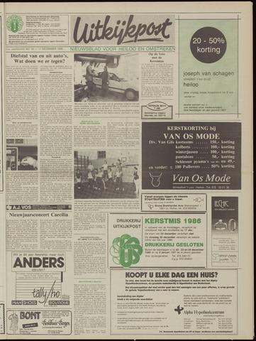 Uitkijkpost : nieuwsblad voor Heiloo e.o. 1986-12-17