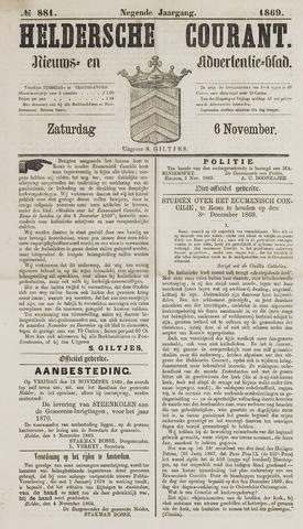Heldersche Courant 1869-11-06