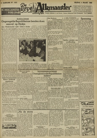 De Vrije Alkmaarder 1949-03-04