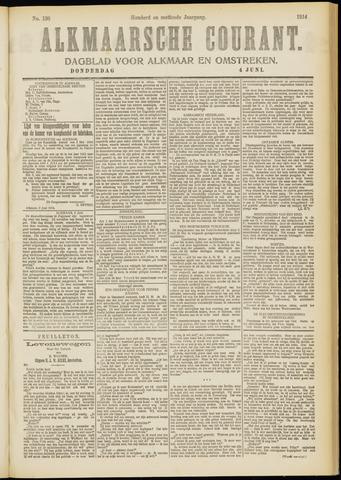 Alkmaarsche Courant 1914-06-04