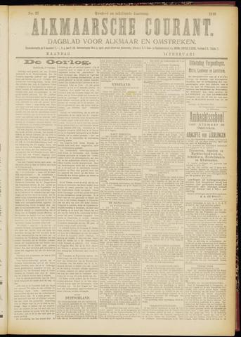 Alkmaarsche Courant 1916-02-14