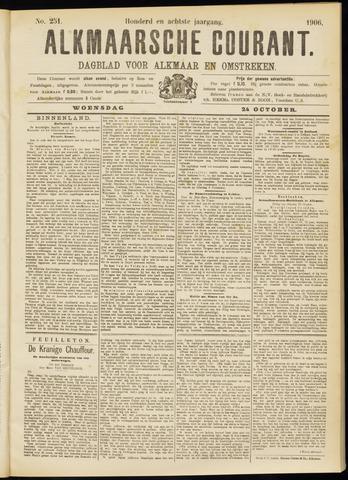 Alkmaarsche Courant 1906-10-24