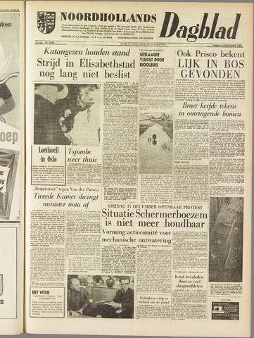 Noordhollands Dagblad : dagblad voor Alkmaar en omgeving 1961-12-08