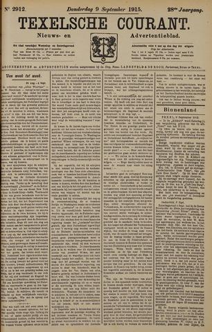 Texelsche Courant 1915-09-09
