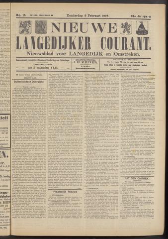 Nieuwe Langedijker Courant 1925-02-05