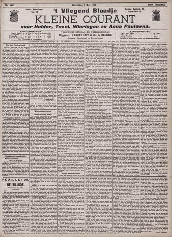 Vliegend blaadje : nieuws- en advertentiebode voor Den Helder 1906-05-09