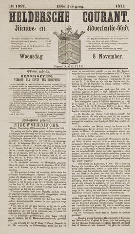 Heldersche Courant 1871-11-08