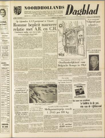 Noordhollands Dagblad : dagblad voor Alkmaar en omgeving 1959-10-17
