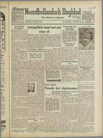 Nieuw Noordhollandsch Dagblad : voor Alkmaar en omgeving 1946-08-03