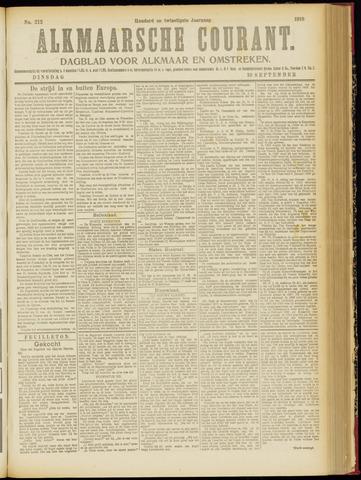 Alkmaarsche Courant 1918-09-10