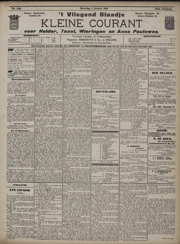 Vliegend blaadje : nieuws- en advertentiebode voor Den Helder 1909-01-02