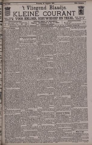 Vliegend blaadje : nieuws- en advertentiebode voor Den Helder 1897-08-25