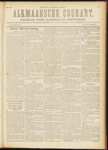 Alkmaarsche Courant 1917-11-12